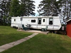 Spacious 34 foot Holiday Trailer for Rent in PEI