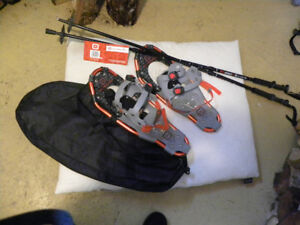 """21 """" snowshoes good for up to 120 lbs"""