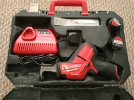 Milwaukee M12 reciprocating saw