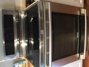"""Electrolux 30""""double oven stainless steel range"""