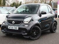 2016 smart fortwo 1.0 Black Edition 2dr Auto City-Car Petrol Automatic