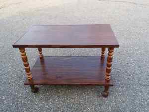 Vintage Rolling TV Table Regina Regina Area image 1
