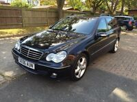 MERCEDES C CLASS ESTATE ADVANTGARDE DIESEL