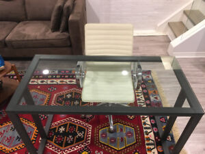 Crate & Barrel Desk and Chair
