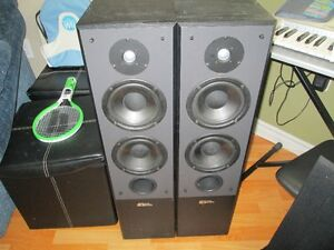 Pair Sound Dynamics R616 Tower Speakers!