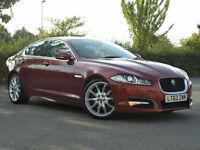 Jaguar XF 3.0TD V6 ( 275ps ) ( s/s ) Auto 2013MY S Premium Luxury BEIGE LEATHER