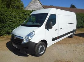 2013 63 VAUXHALL MOVANO 2.3CDTI 6SPEED L3H2 LWB 72000 MILES 1 OWNER IMMACULATE