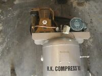 INDUSTRIAL RK 5HP AIR COMPRESSOR- PHASE 3-NEW PRICE