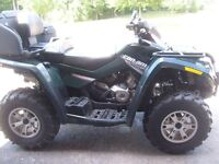 CAN-AM OUTLANDER 2008 LOW KILOMETERS1950 MINT CONDITION 2 UP SEA