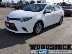2016 Toyota Corolla   LOCAL TRADE, LOW KMS, AUTO