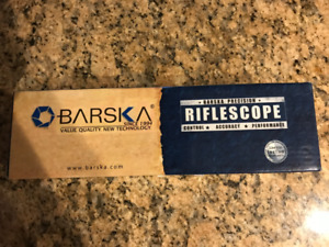 BARSKA 4x32mm IR Contour Rifle Scope $80.