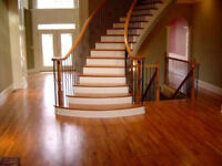 Quality hardwood and laminate flooring installation