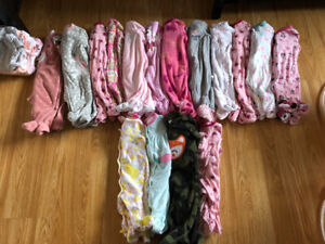 Massive 3 month twin girl clothing lot