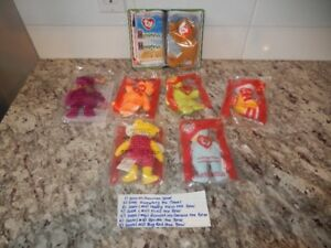 McDonalds  Collectable TY Beanie Babies (x7) Lot #6