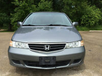 Price Reduced: 2002 Honda Odyssey EX/Leather