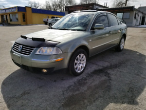 2003 VOLKSWAGEN PASSAT GLS SAFETY AND E-TESTED