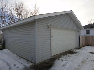 26 x 24 Double Car Garage, Michener Hill, Red Deer