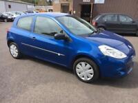 5909 Renault Clio 1.2 16v 75bhp Extreme Blue 3 Door 74476mls MOT 12m