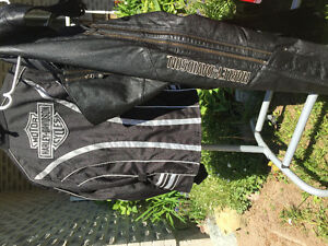 Harley Davidson womens jacket and chaps