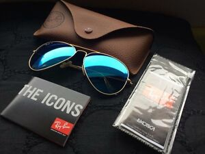 Ray Ban Aviator Sun glasses with case