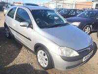 2002/52 Vauxhall/Opel Corsa 1.2i 16v SXi LONG MOT EXCELLENT RUNNER