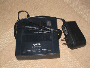 ZyXEL P-600 Series DSL modem