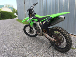KX 250 F,  2011 injection
