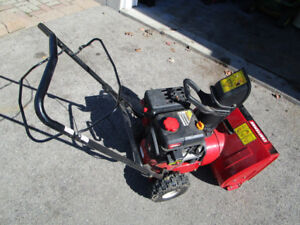 CRAFTSMAN 170 CC 22 INCH SNOWBLOWER ELECTRIC START  PARTS OR REP