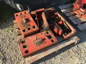 1070 Case tractor weights