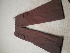 Women's lined brown winter pants Size Small New with tags London Ontario image 1
