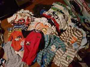 LOTS of baby boy clothes!!0-3 months from smoke free home