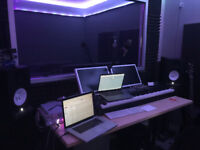 STUDIO TIME & RECORDING OFFERED BY A CERTIFIED SOUND ENGINEER