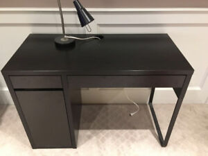 IKEA desk & lamp in Richmond