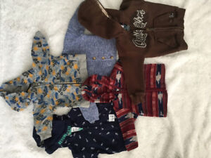 0-3 month boy sweaters