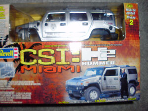 NEW REVELL MODEL KIT CSI: Miami H2 Hummer for Sale