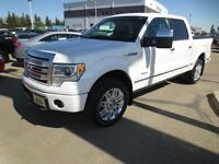 2013 Ford F-150 Platinum 4x4 SuperCrew 145 in