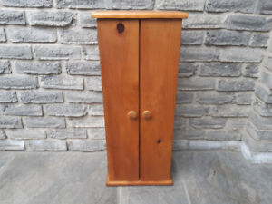 Solid Pine Wood CD Cabinet