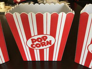 Movie Syle Popcorn Holders Kitchener / Waterloo Kitchener Area image 2