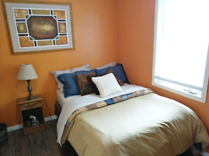beautiful bright bedroom for rent