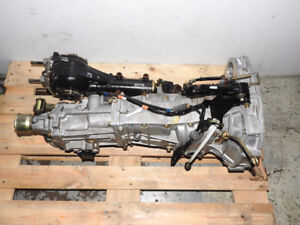 Jdm Subaru Forester Turbo Transmission 4.44 TY755VB5BA Wrx  4.4