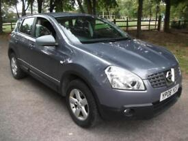 Nissan Qashqai 2.0dCi 4WD Acenta + 12 MONTHS MOT LOW INSURANCE AND LOW TAX BAND