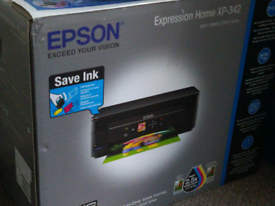 Printer Epson Expression Home XP - 342 and ink