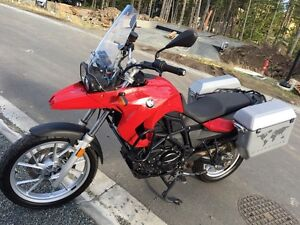 2009 BMW F650GS twin 800cc