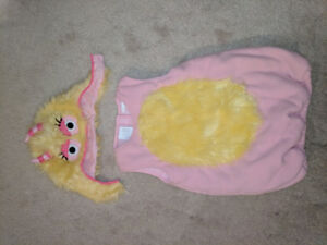 Pottery Barn Kid's Monster Costume - Pink (like-new)