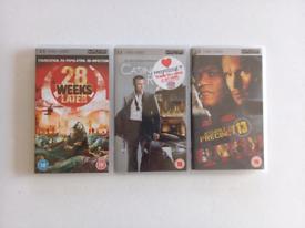 UMD Bundle - 3 Movies - Used condition
