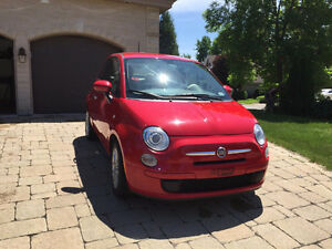 2013 Fiat 500 Pop with WINTER WHEELS (tires + rims)