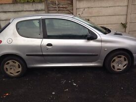 £140 ONO Peugeot 206 not Clio not Audi not Mercedes