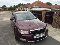 2012 Skoda superb automatic top of the range