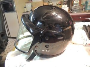 THH MOTORCYCLE HELMET WITH FULL FACE SHIELD