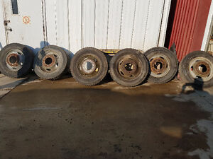 6 tires and rims Kitchener / Waterloo Kitchener Area image 1